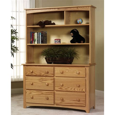 dresser with hutch comfort mission dresser with hutch set atg stores