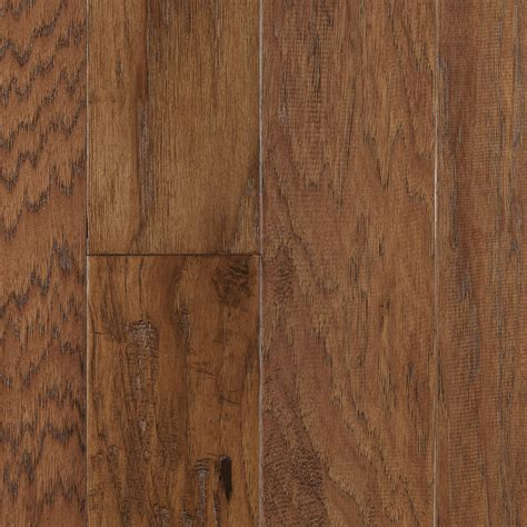 hardwood flooring lowes shop style selections prefinished russet hickory hardwood flooring 26 55 sq ft at lowes com