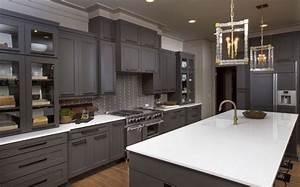 smart in choosing type of kitchen cabinets With what kind of paint to use on kitchen cabinets for hanging material wall art