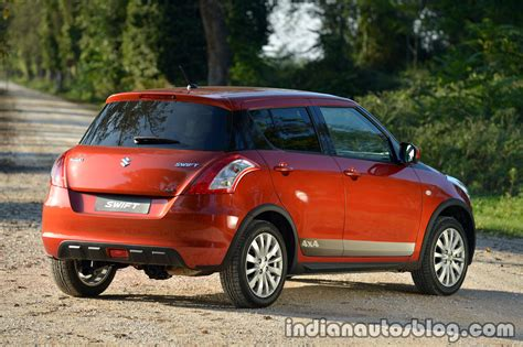 Suzuki Swift 4x4 Technical Details, History, Photos On