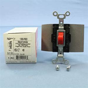 Pass  U0026 Seymour Red Manual Motor Controller Switch