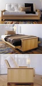 Futon Bed Woodworking Plan, Indoor Home Bedroom Furniture