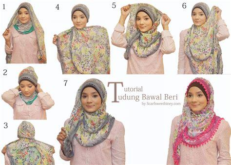 teknik hijab trend