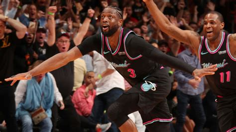 Dwyane Wade Miracle Shot At Buzzer Seals Miami Heat Win