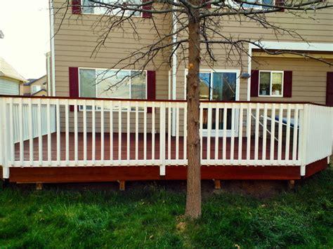 decks traditional porch denver   superior finish