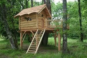 Comment Construire Une Cabane à écureuil : cabane d 39 enfant du pin nidperch constructeur de cabane ~ Melissatoandfro.com Idées de Décoration