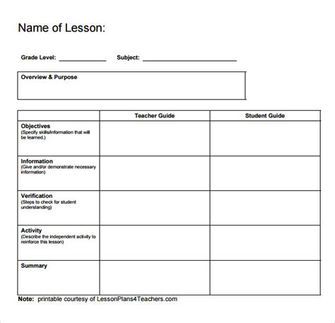 printable lesson plan template search results for free printable lesson plan 2015 calendar page 2 calendar 2015