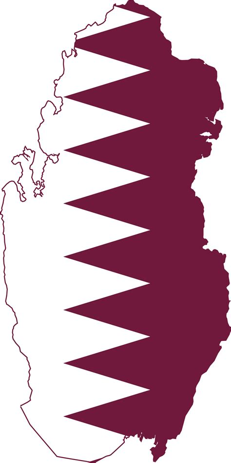 File:Flag-map of Qatar.svg - Wikimedia Commons
