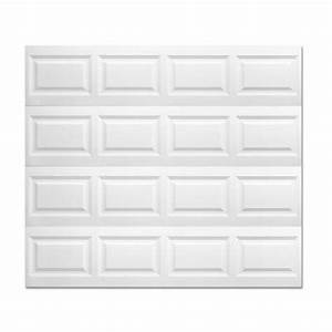Clopay model 2050 premium series insulated garage door 8x7 for 8x7 garage door home depot