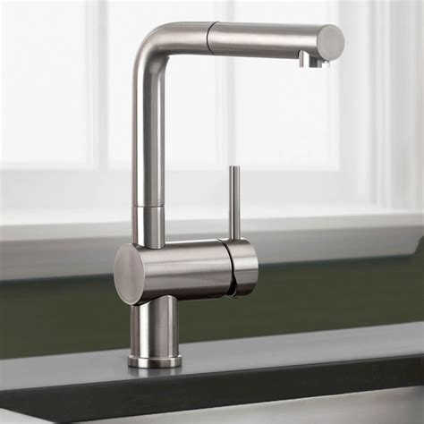 faucet for kitchen blanco 441335 linus truffle pullout spray kitchen faucets efaucets com