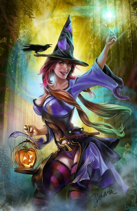 Halloween Is Coming 2014 – Pin Up and Cartoon Girls Art ...