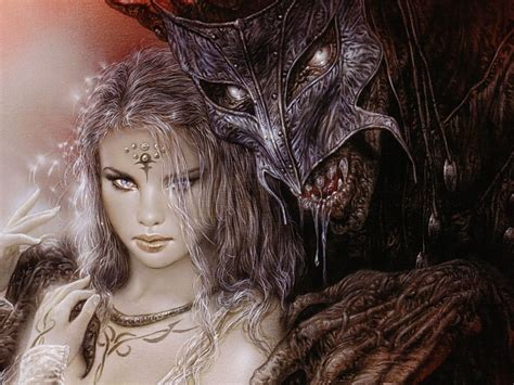 luis royo fantasy dark horror demon women art mask monster gothic warrior  wallpaperscom