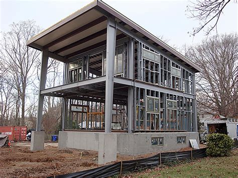Haus Aus Stahl Bauen by 3030 Home Ecosteel Architectural Metal Buildings