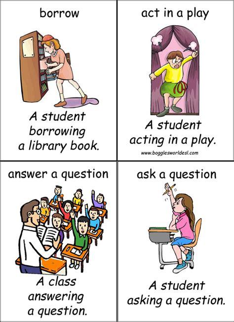 Classroom English Flashcards