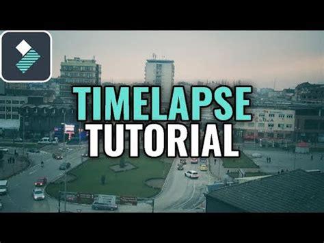 How To Make a TIME LAPSE Using Wondershare Filmora ...