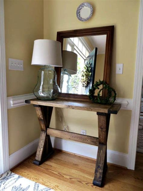 How To Make An Entryway Table by 25 Best Diy Entryway Table Ideas With Tutorials Page 3