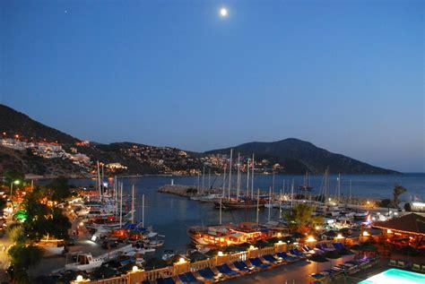 Kalkan By Night - Kalkan Turkey Website