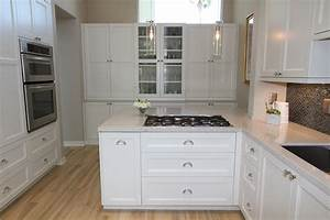 photos of kitchen cabinets with knobs white shaker With kitchen colors with white cabinets with papier pointe