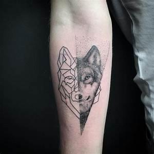 Loup Tatouage Signification : tatouage loup origami ~ Dallasstarsshop.com Idées de Décoration