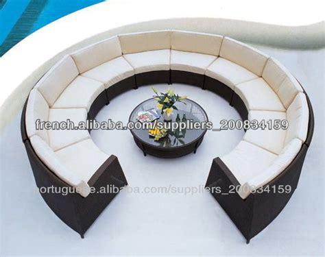 canap fabriqu en fabriqué en chine canapé courbe demi cercle canapé