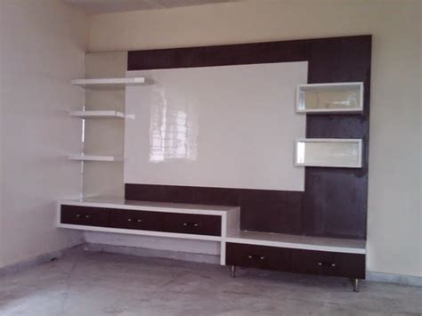 modern living room lcd tv wall unit rs  piece