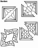 Borders Coloring Corner Border Corners Flower Printable Colouring Crayola Getcolorings Printing Drawing Patterns Frames Getdrawings sketch template
