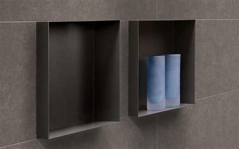 bathroom shower tile design wandnischen container box raumsparmöglichkeiten