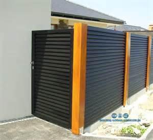 Aluminium Zaun Preise : aluminium lamellen zaun sichtschutz h 1 0 m b 2 0 m ~ A.2002-acura-tl-radio.info Haus und Dekorationen