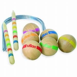 Grand Jeu Extérieur : jouets des bois grand croquet sac golf 6 joueurs vilac ~ Melissatoandfro.com Idées de Décoration