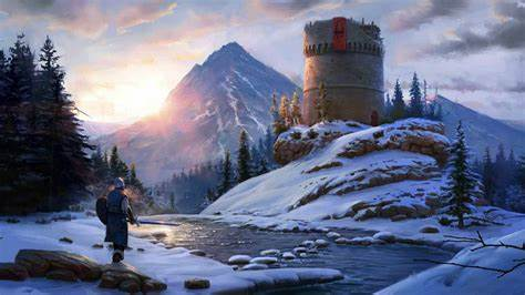 Lonely Tower Skyrim V Game TES - Free Live Wallpaper ...