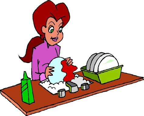 Washing Dishes Clipart Washing Dishes Clipart