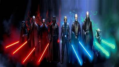Jedi Sith Wallpapers Background Pc Lightsaber 1080