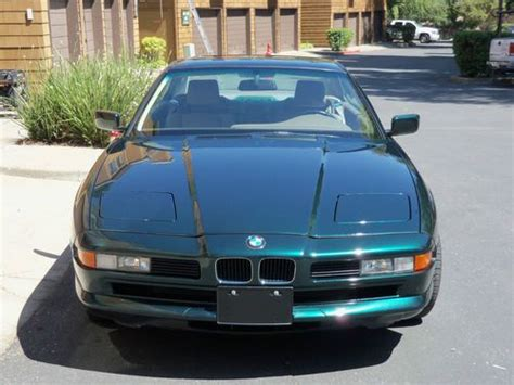 auto body repair training 1993 bmw 8 series electronic valve timing sell used 1993 bmw 850ci coupe 2 door 5 0l 12 cyl 300bhp in san ramon california united states