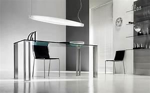 Bureau En Verre Design : bureau verre ~ Teatrodelosmanantiales.com Idées de Décoration