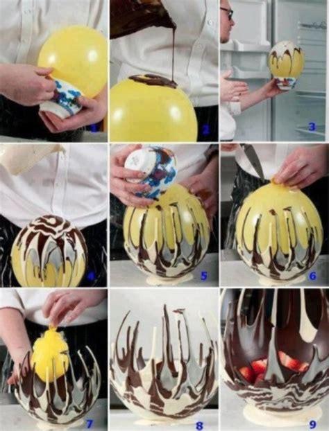 truc et astuce ballon chocolat tuxboard