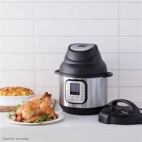 fryer air lid instantpot instant pot duo heat amazon manual compatible models