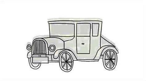 draw  car  classic car step  step