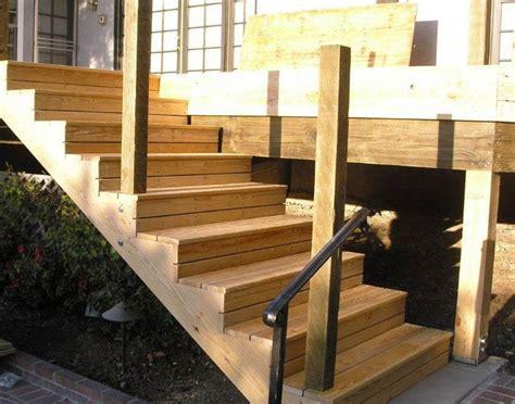 außentreppe selber bauen stahl gartentreppe aus holz selber bauen anleitung und beispiele
