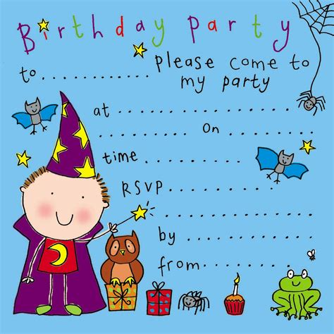 a birthday invitation party invitations birthday party invitations kids party
