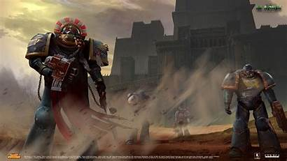 Warhammer Adeptus Astartes Mechanicus Fists Crimson War