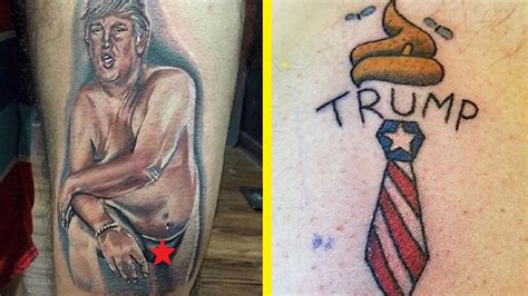 donald trump tattoos     youtube