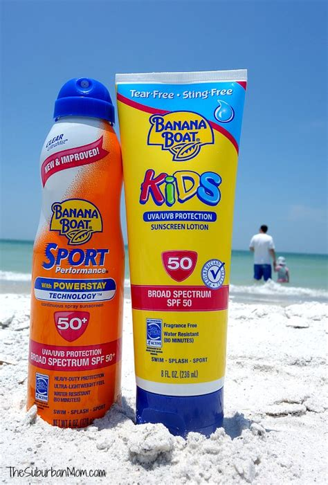 Banana Boat Sunscreen Safe by Summer At The Beach And Toddler Beach Essentials