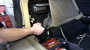 Installation Of A Trailer Wiring Harness On A 2011 Bmw X5