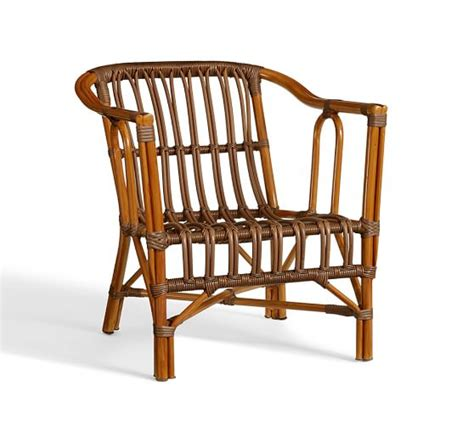 rattan chair pottery barn