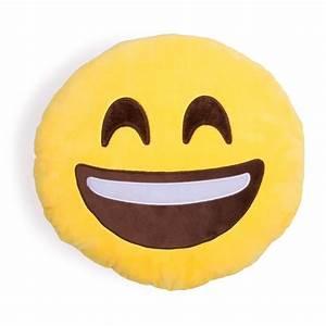 Extra Happy Emoji Pillow from Shelfies Epic Wishlist