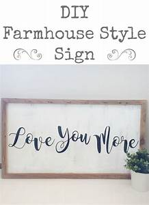 DIY Farmhouse Sign - Lemons, Lavender, & Laundry