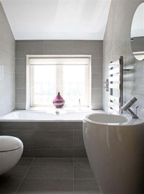 hadley wood modern country house contemporary bathroom