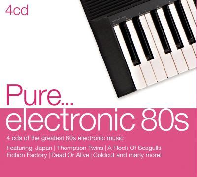 The majority of tracks on this compilation is owned by universal. Pure... Electronic '80s - Various Artists   Songs, Reviews, Credits, Awards   AllMusic