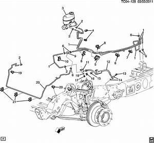 2004 Chevy Trailblazer Brake Line Diagram