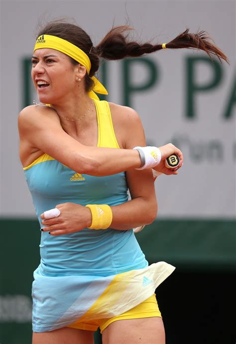 See more ideas about tennis, tennis players female, tennis players. Sorana Cirstea Photos Photos - French Open: Day 6 - Zimbio